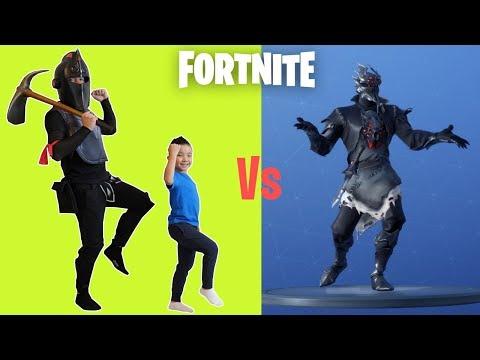 Black Knight VS Ckn FORTNITE Dance Challenge
