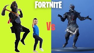 Black Knight VS Ckn FORTNITE Dance Challenge