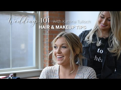 Wedding Beauty Hair Makeup Tips And Trends For Your Big Day Weddings 101 Video Syracuse Com