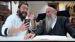 Teaching Social Media 101 To The King Of Jewish Music!