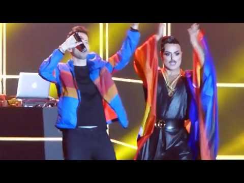 "Eurovision Village ""Pride Night"" Tel Aviv, Israel, 2019 Including Izhar Cohen, Ivri Lider, & More!"
