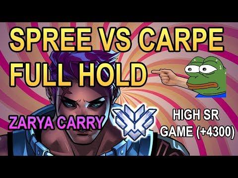 CLEAN ZARYA CARRY: SPREE vs Carpe (FULL HOLD HANAMURA) (High SR Game +4300)