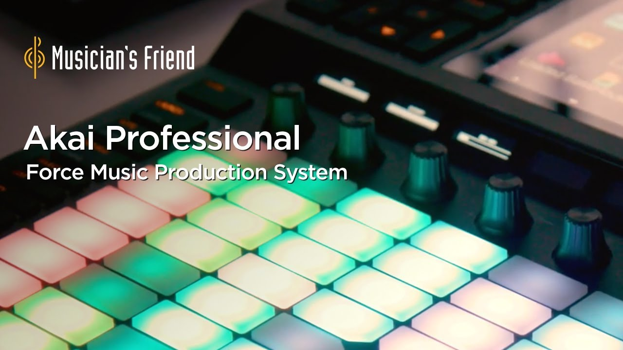 Verbazingwekkend AKAI Force Music Production System - Features and Demo - YouTube HZ-94
