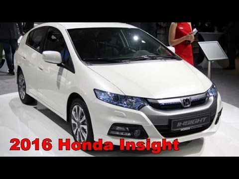 2016 Honda Insight Picture Gallery