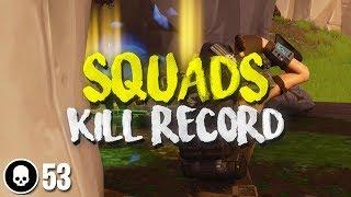 PC WORLD RECORD TIED! 53 KILL SQUAD WIN w/ Nick Eh 30, ONE_shot_GURL & FaZe Cloak