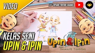 Download Kelas Seni Upin & Ipin Keris Siamang Tunggal - Upin & Ipin Mp3
