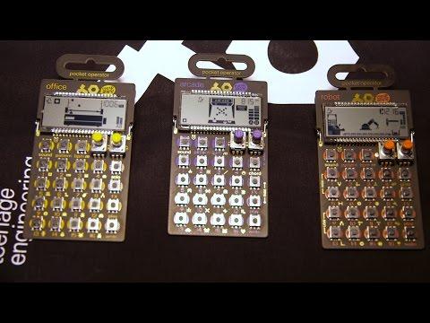 Teenage Engineering Pocket Operators PO-20 - NAMM 2016