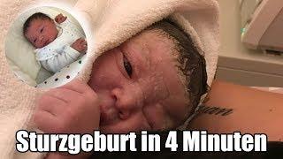Meine Sturzgeburt in 4 Minuten | Geburtsbericht | 4. natürliche Geburt | Filiz