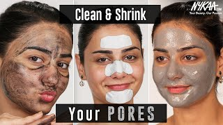 How To Get Rid Of Clogged Pores | Ft. Simmy Goraya | Skin Care Routine | Nykaa