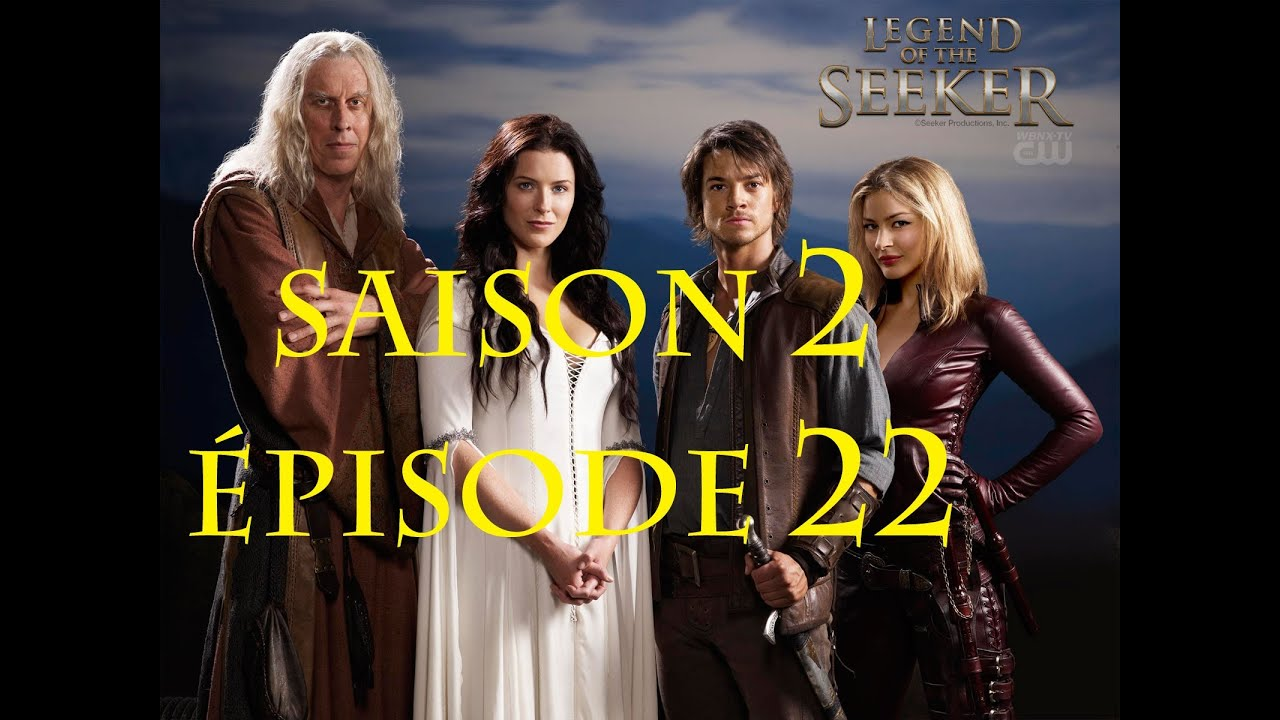 gratuitement legend of the seeker saison 3