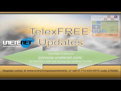 Bankrupt? TelexFREE Update Call Randy Crosby & Friends 4.14.14