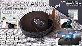 Amarey A900 | Full Review | Intelligent Robot Vacuum with Alexa+App Voice Control「S7YLER」