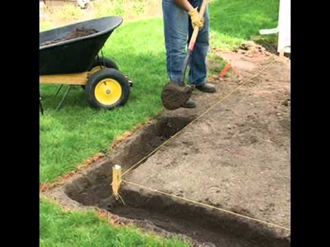 Charming How To Lay A Patio And Its Basic Steps