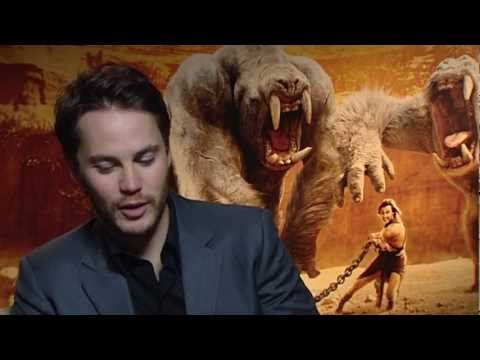 John Carter interview with Taylor Kitsch and Lynn Collins