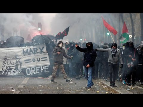 شاهد: إضرابات واحتجاجات في فرنسا ضد إصلاح نظام التقاعد  - نشر قبل 3 ساعة