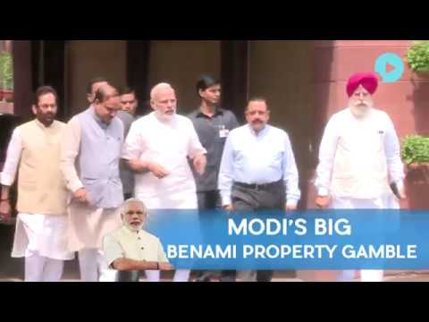 Modis Big Benami Property Gamble