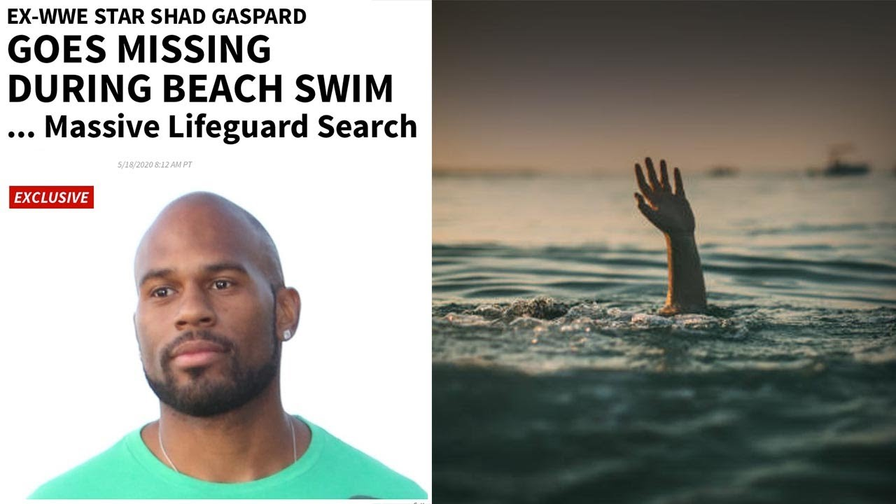 Former WWE Star Shad Gaspard Missing After Beach Swim as Son ...