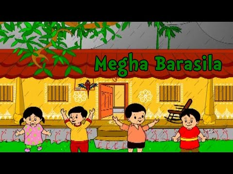 Megha Barasila | Oriya Nursery Rhymes and Songs | Shishu Raaija - A Kids World