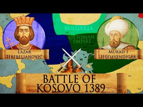 Battle Of Kosovo 1389 - Serbian-Ottoman Wars DOCUMENTARY