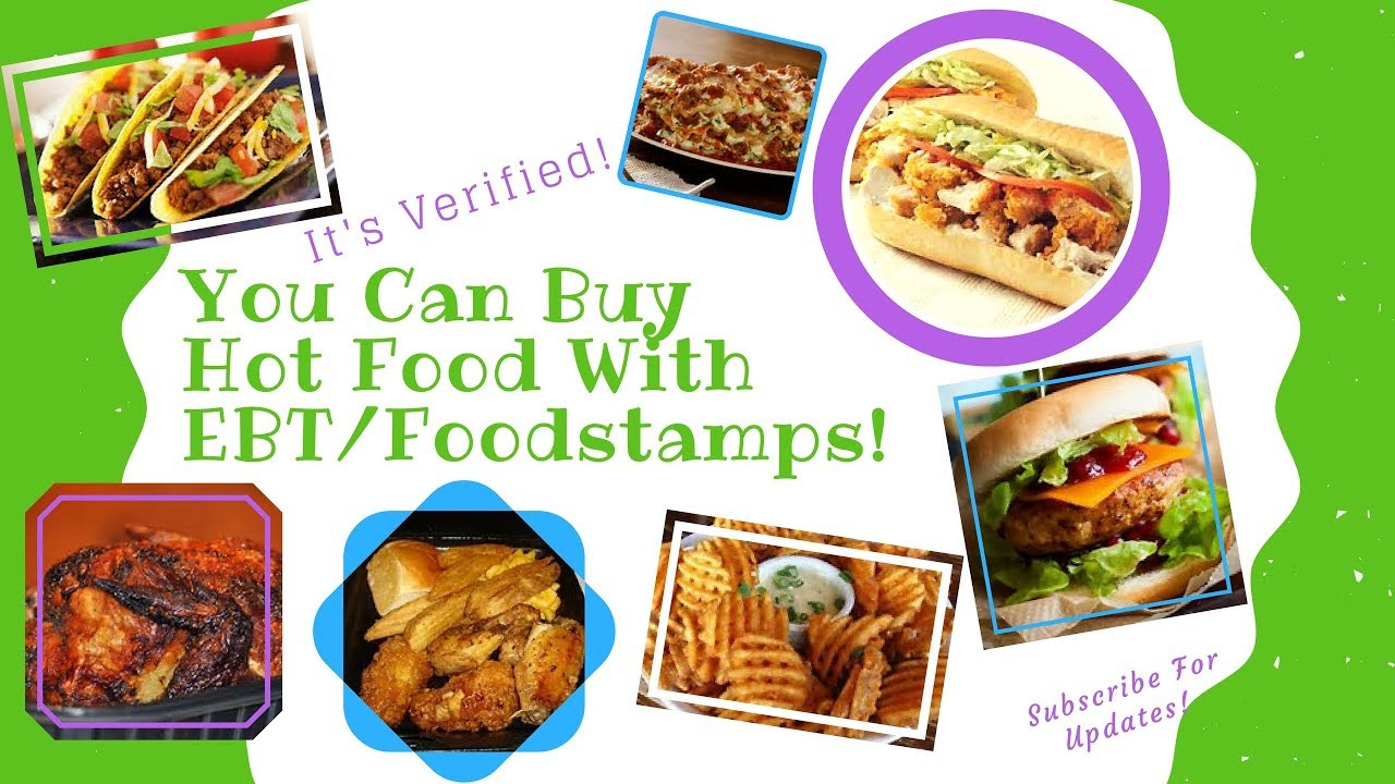 Buy Hot Food With Ebt Food Stamps Until October 30th 2017 Youtube