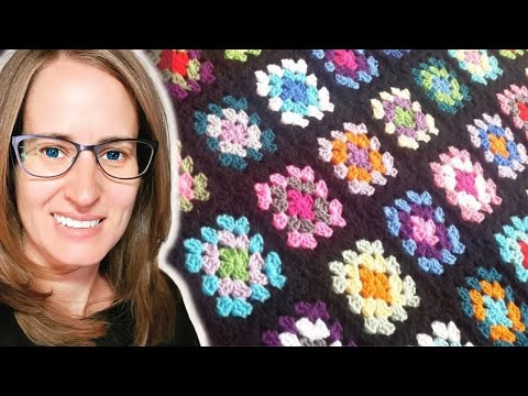Crochet Basic Granny Square Tutorial : Crochet Granny Square Tutorial - YouTube