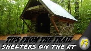 Hiking tips from the trail ~ Shelters on the Appalachian Trail
