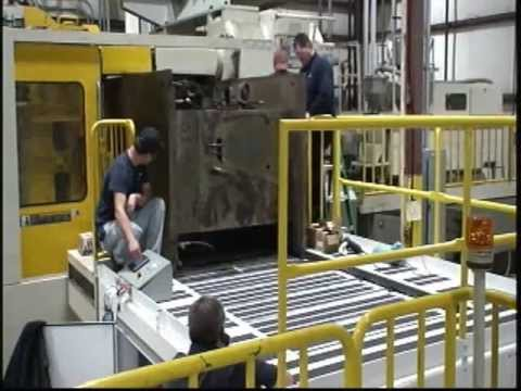 Titan Mold Shuttle 2647:  Mold Change Table Installed on site