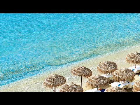 Psarou Beach Mykonos Greece
