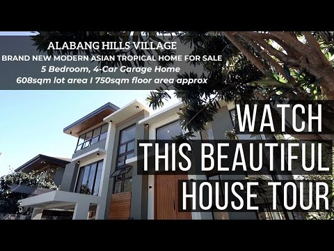BEAUTIFUL House for Sale in Alabang Hills, Manila Philippines