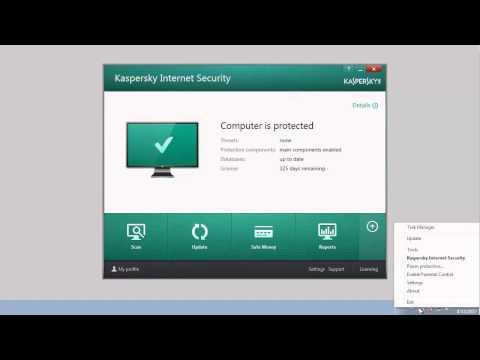 How To Update Anti-virus Databases - Kaspersky Internet Security 2014