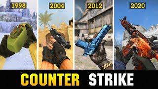 😱КАК Counter-Strike СТАЛ ИЗВЕСТНЫМ 1998-2020 , ТЫ ОФИГЕЕШЬ !!!