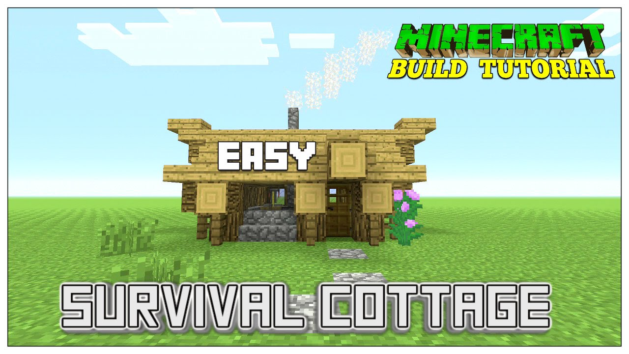 How To Build A Cute Cottage In Minecraft