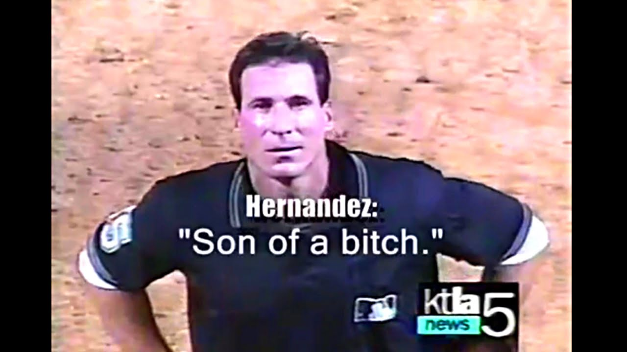 Angel Hernandez Doing Angel Hernandez Things Youtube