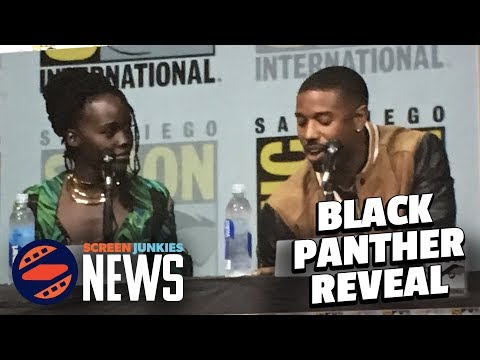 Black Panther Comic Con Footage Review! - SDCC 2017