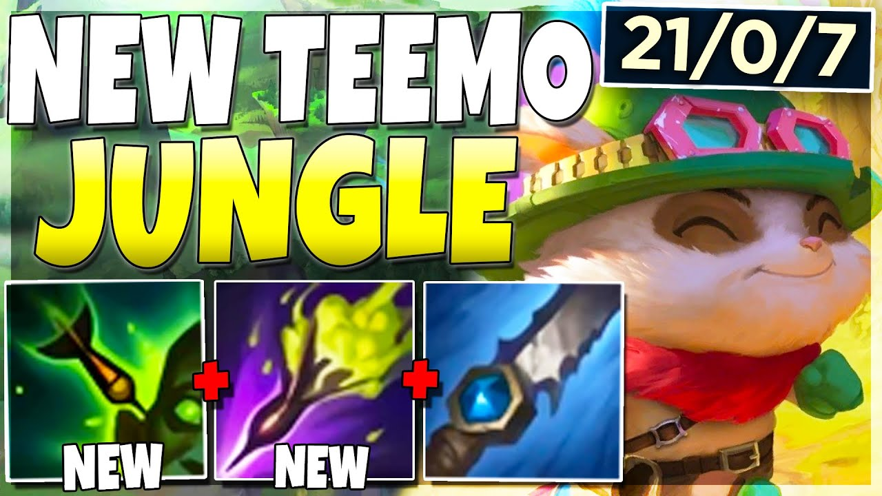 Riot Turned Teemo Into a JUNGLER.. And It's INSANELY OP - League of Legends