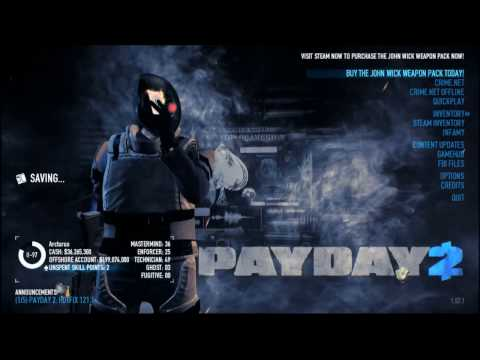 Payday 2 : Safe House Raid █ Very Hard █ Solo █ Easy Continental Coin
