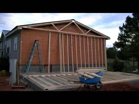 Mobile Home Addition Part 1