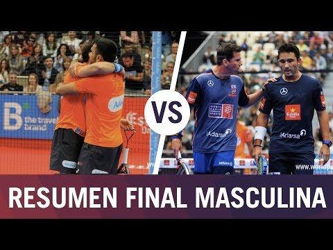 Resumen final Masculina A Coruña Open Bela/Lima VS Paquito/Sanyo   World Padel Tour