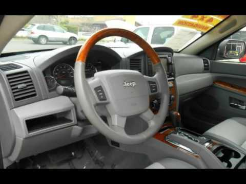 2006 Jeep Grand Cherokee Overland 4X4 * DVD * MoonRoof * V8 5.7 Hemi For  Sale In SACRAMENTO, CA