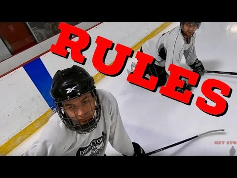 Hey Stripes! The Micd Up GoPro Hockey Ref - Game 270 - Rules