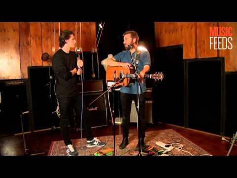 Josh Pyke - Interview (Live at Music Feeds Studio)
