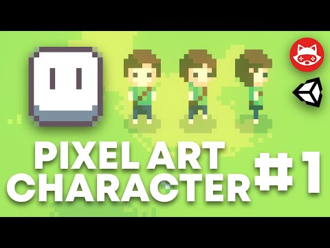 Aseprite Top Down Pixel Art Character Design And Animation Part 1 - Tutorial