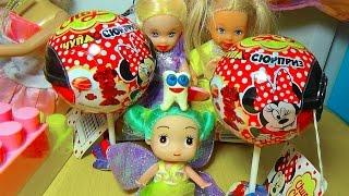 Мультик про кукол. Катя и зубная фея. Микки Маус Чупа-Чупс/Cartoon. Katya and the tooth fairy.
