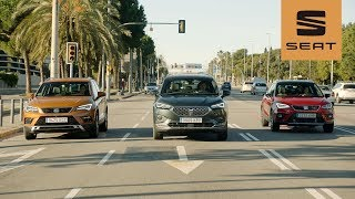 The SEAT SUV Family – Arona | Ateca | Tarraco