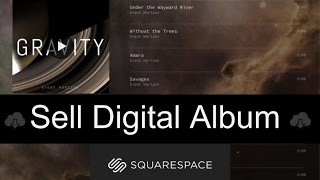 Sell Your Album as Download on Squarespace [2021] SIMPLE!