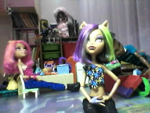 Видео монстер хай куклы мы вульфы