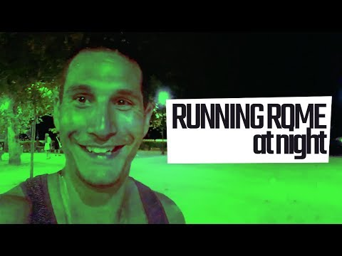 Running Rome At Night