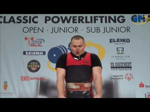 "Belgian Power "" European Powerlifting Championship 2017"""