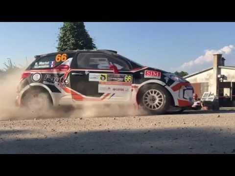 73 Rajd Polski WRC - Skocze k. Gołdapi 4K Slow Motion