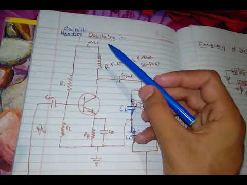 Colpitt oscillator in hindi